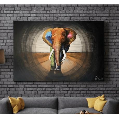 Maleri - Elephant Walk