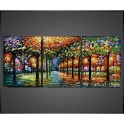Maleri - Glittering Trees