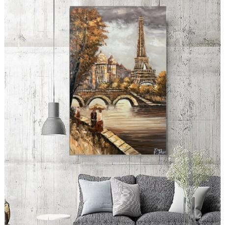 Maleri - Eiffel of Paris