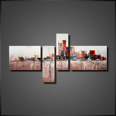 Abstrakt Gruppemaleri Citylife