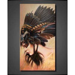 Køb Malerier - Indian