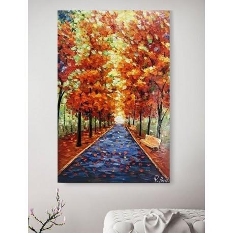 Maleri - Leafy Path