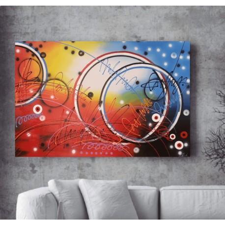Maleri - Abstract Circles